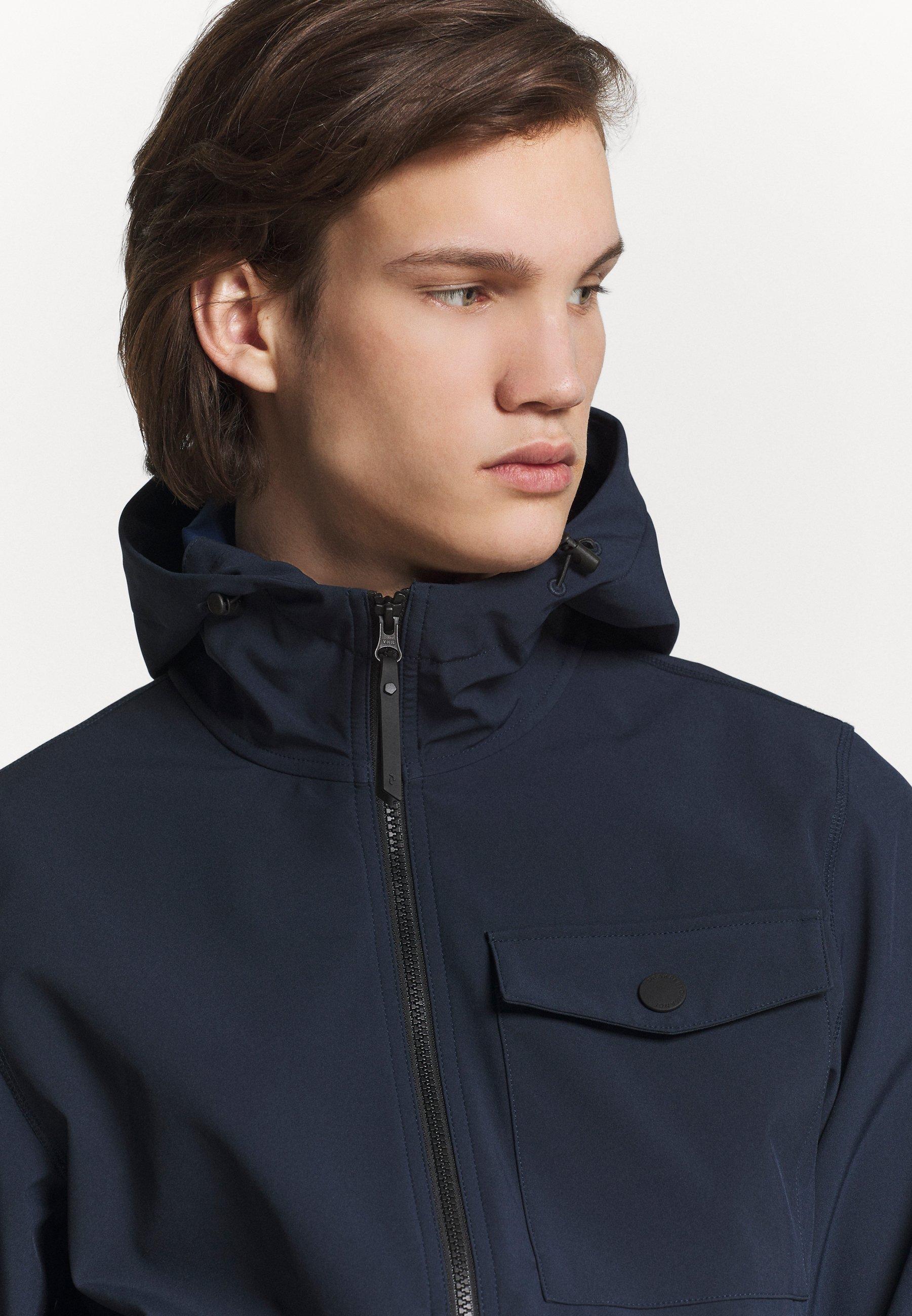 Peak Performance Urban Hood Jacket - Giacca Leggera Blue Shadow PVCgo