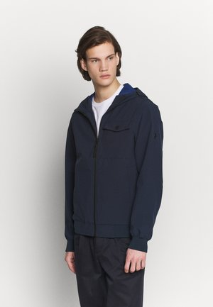 HOOD JACKET - Kurtka wiosenna - blue shadow