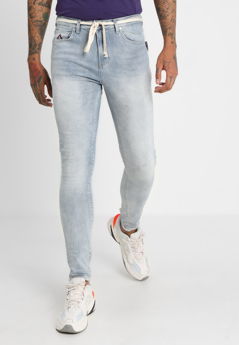 Pegador - BRADLEY BASIC - Jeans Skinny Fit - sand washed light blue
