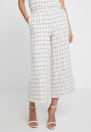CHECKED CULOTTE - Broek - greens