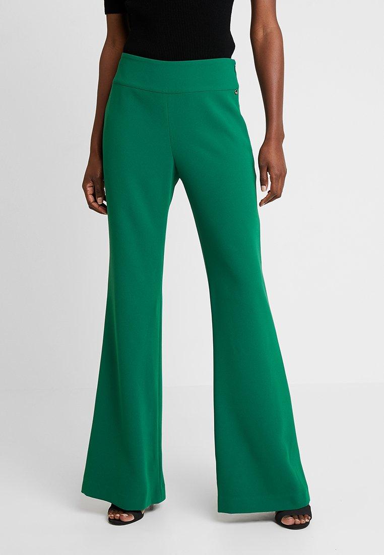 Pedro del Hierro - FLOWINGTROUSER - Pantalon classique - dark green