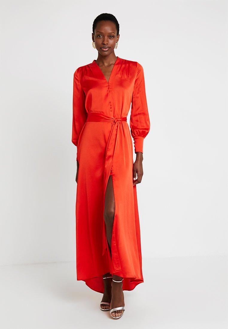 Pedro del Hierro - PLEATED LONG DRESS - Ballkleid - reds