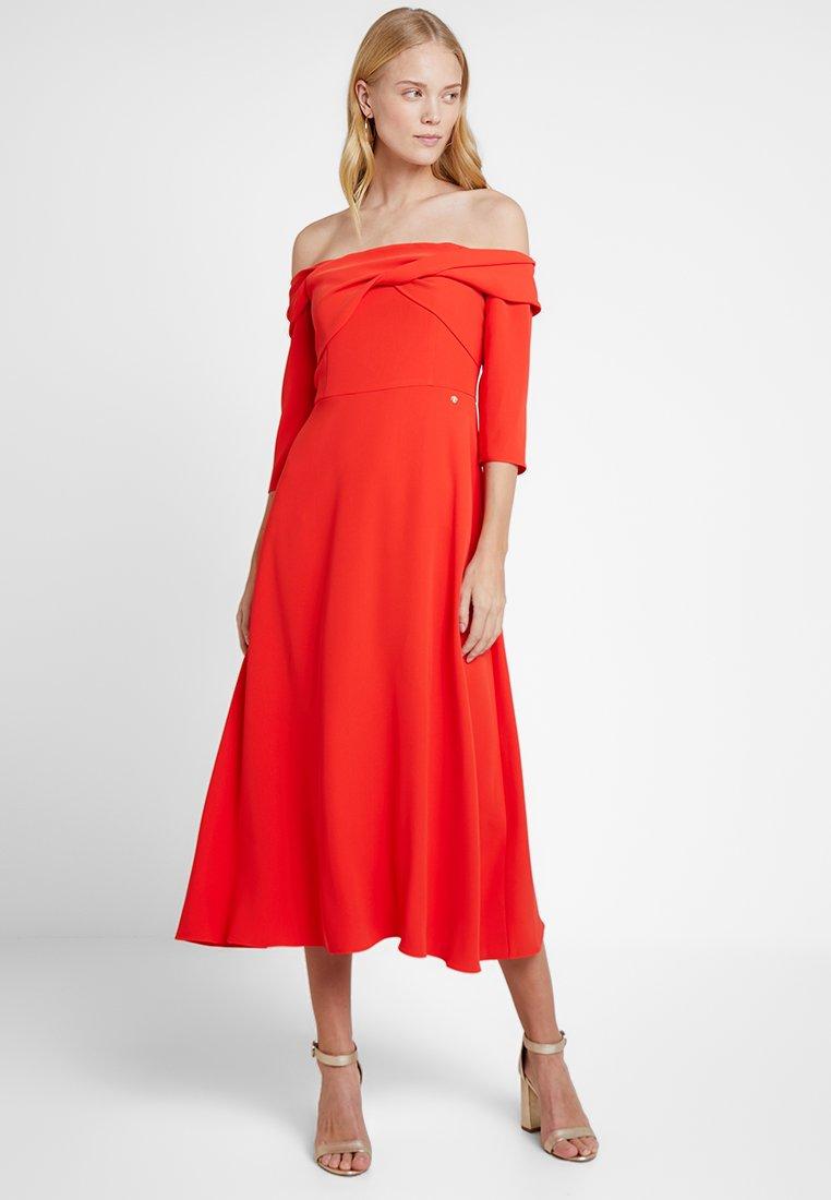 Pedro del Hierro - OFF SHOULDER DRESS - Ballkleid - reds