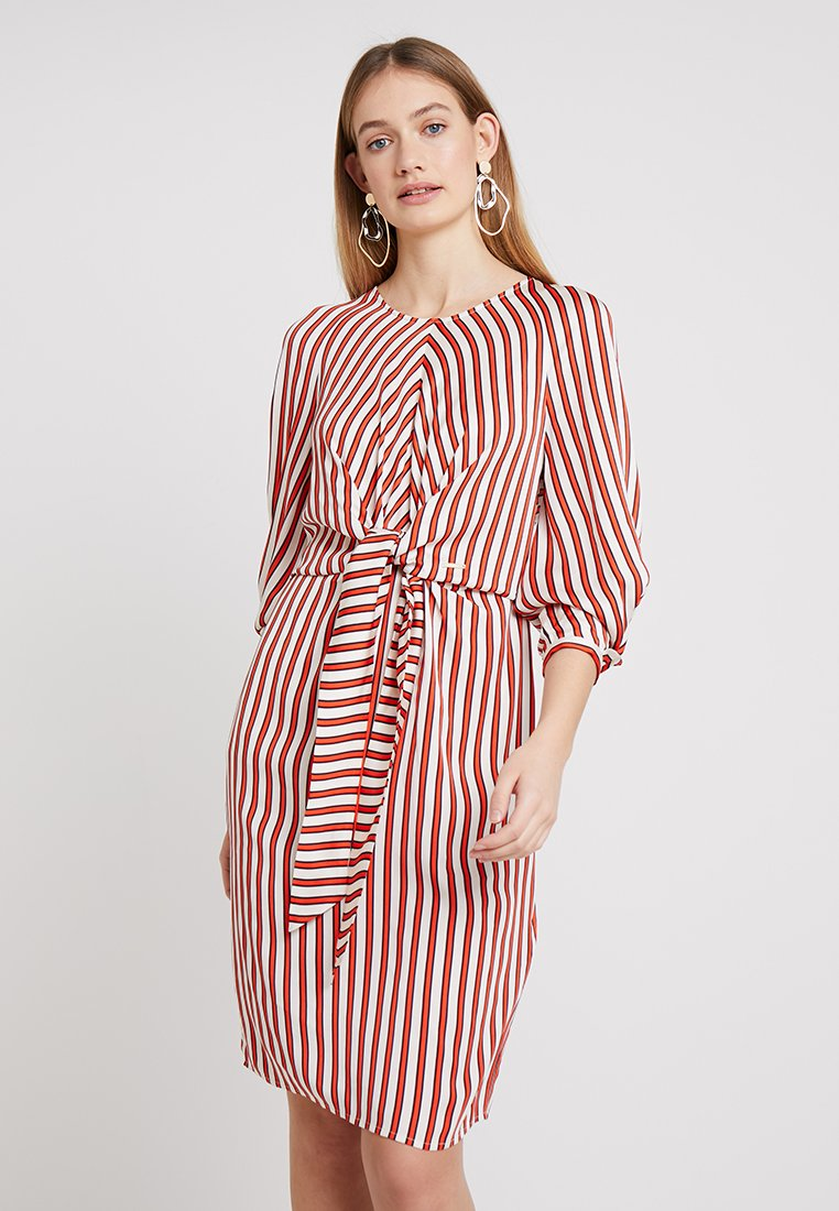 Pedro del Hierro - DRESS WITH BOW - Kjole - reds
