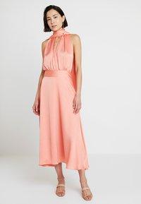Pedro del Hierro - MULTI POSITION DRESS - Cocktailkleid/festliches Kleid - rose - 0