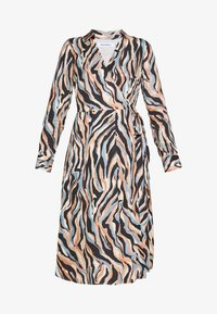 Pedro del Hierro - PRINTED DRESS WITH BELT - Day dress - blue - 3