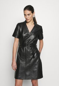 Pedro del Hierro - DRESS - Cocktail dress / Party dress - black - 0