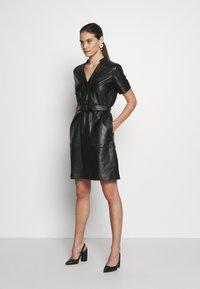 Pedro del Hierro - DRESS - Cocktail dress / Party dress - black - 1