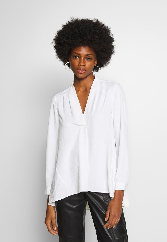 LONG SLEEVE - Blouse - white