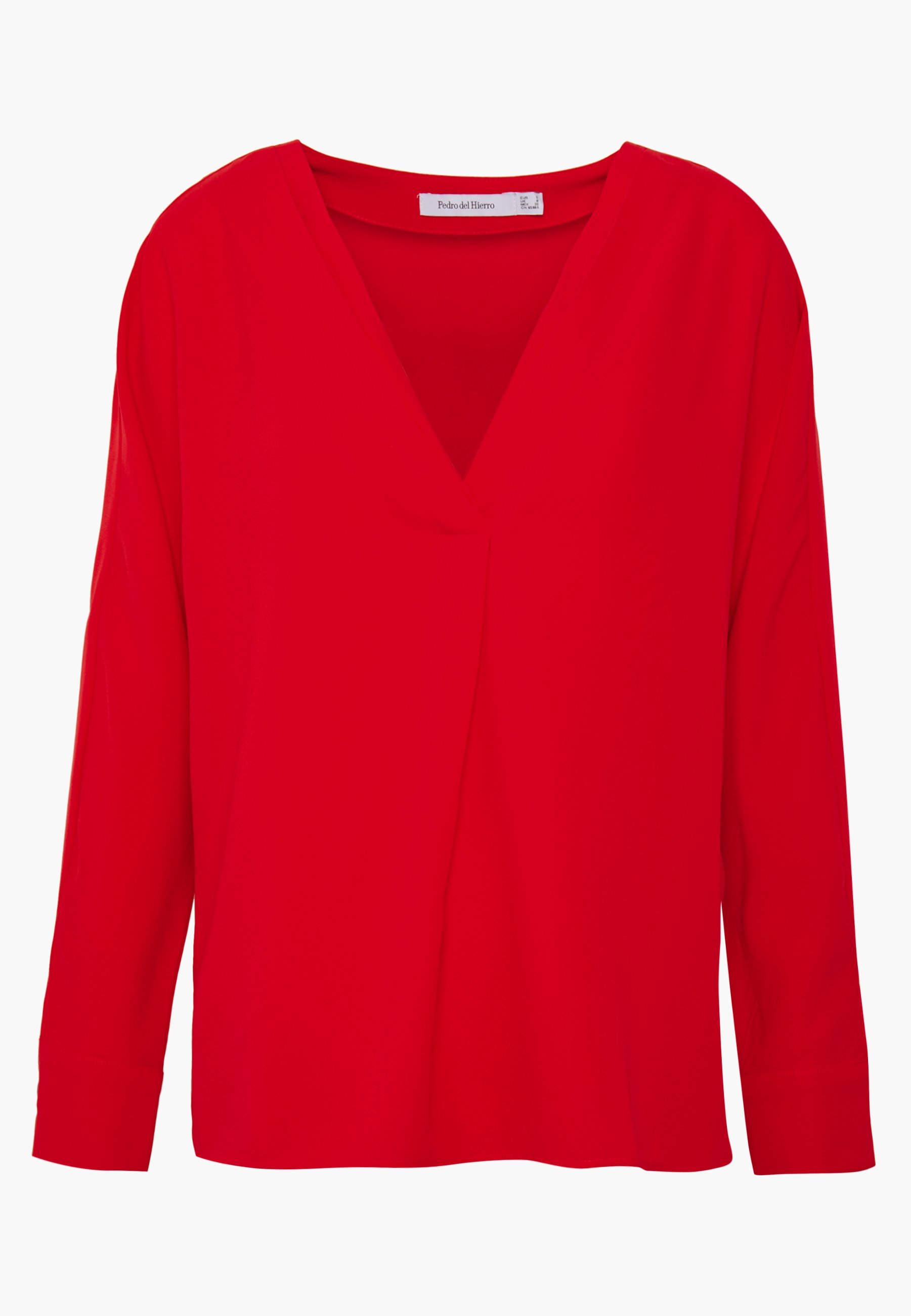 Pedro del Hierro PLAIN TUNIC - Blouse - red WSexe