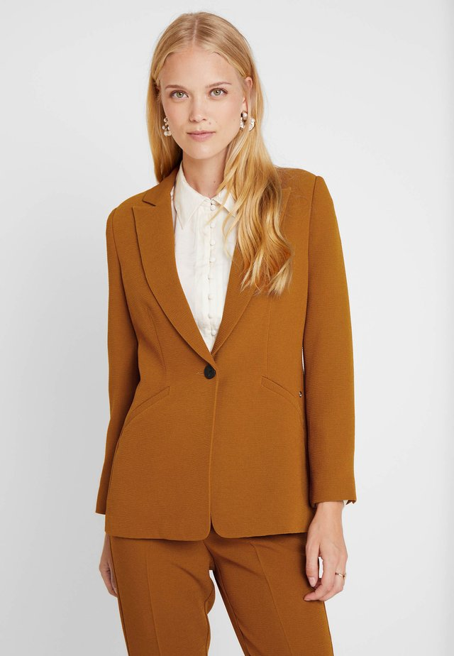 TEXTURED - Blazer - browns