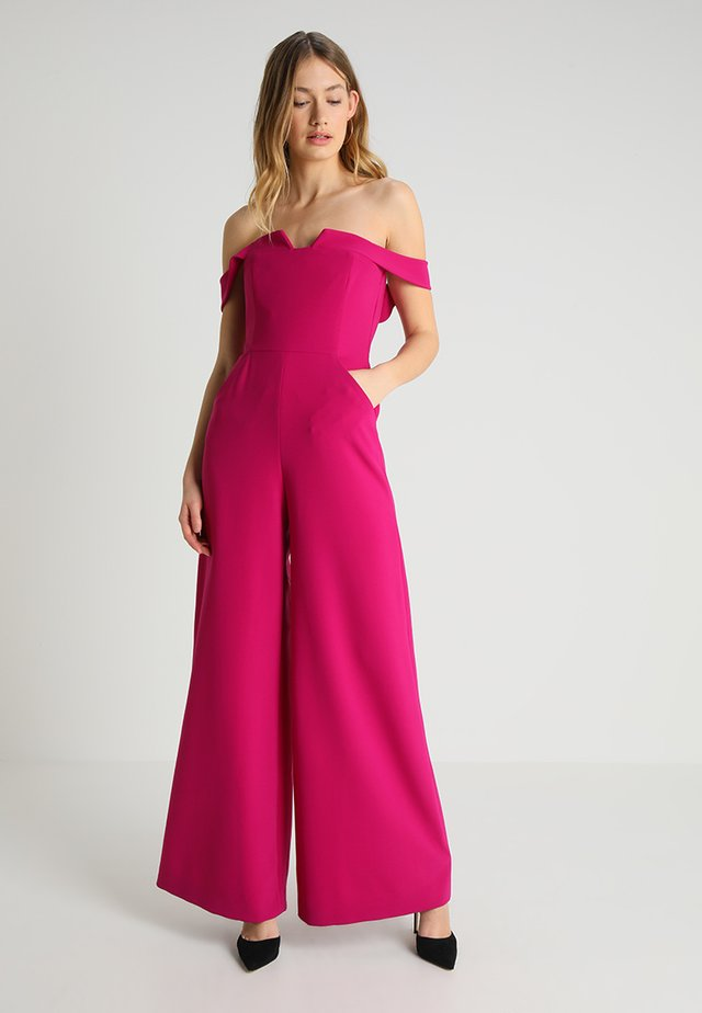 OFF SHOULDER - Jumpsuit - pinks