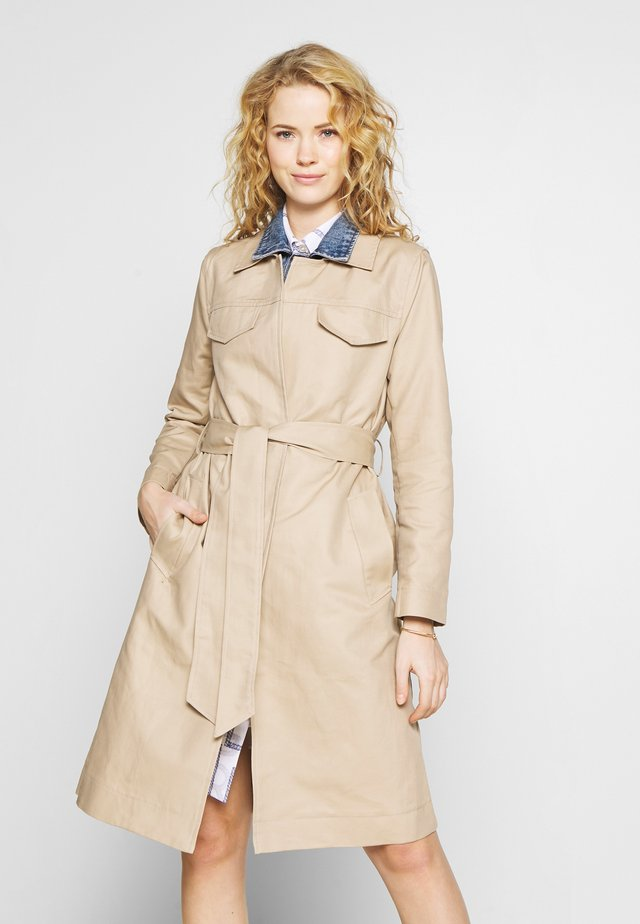 JACKET - Trenchcoat - beige/camel