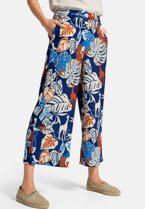 CULOTTE CULOTTE - Trousers - royalblau/multicolor