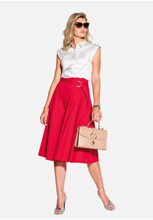 ROCK ROCK - A-line skirt - rot