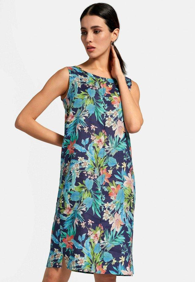 KLEID KLEID - Korte jurk - marine/multicolor