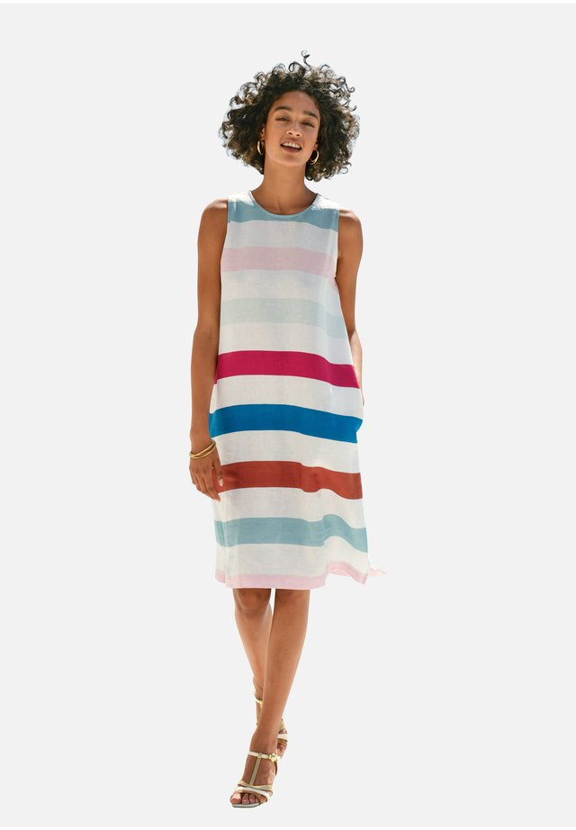 Day dress - weiß/multicolor
