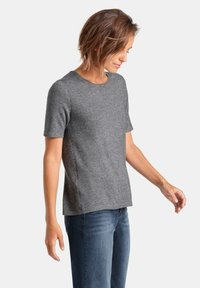 PETER HAHN - T-shirt basic - grey - 3