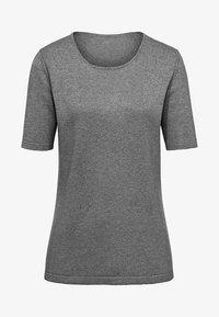 PETER HAHN - T-shirt basic - grey - 5