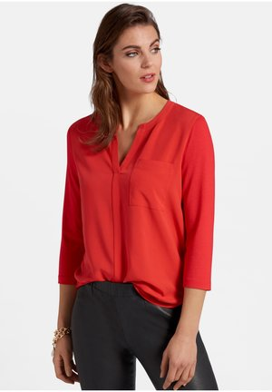 MIT 3/4-ARM - Blouse - red