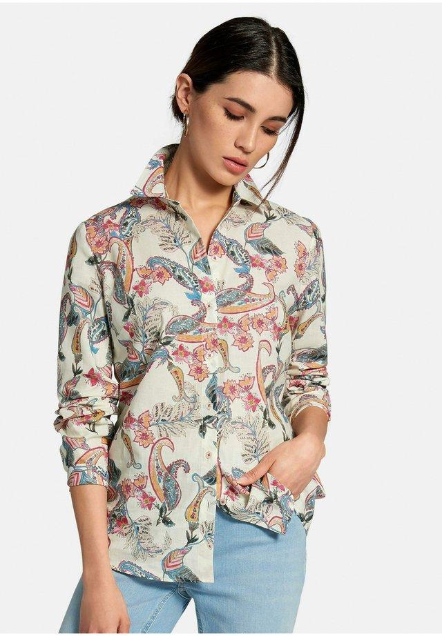 BLUSE BLUSE - Camicia - ecru/multicolor