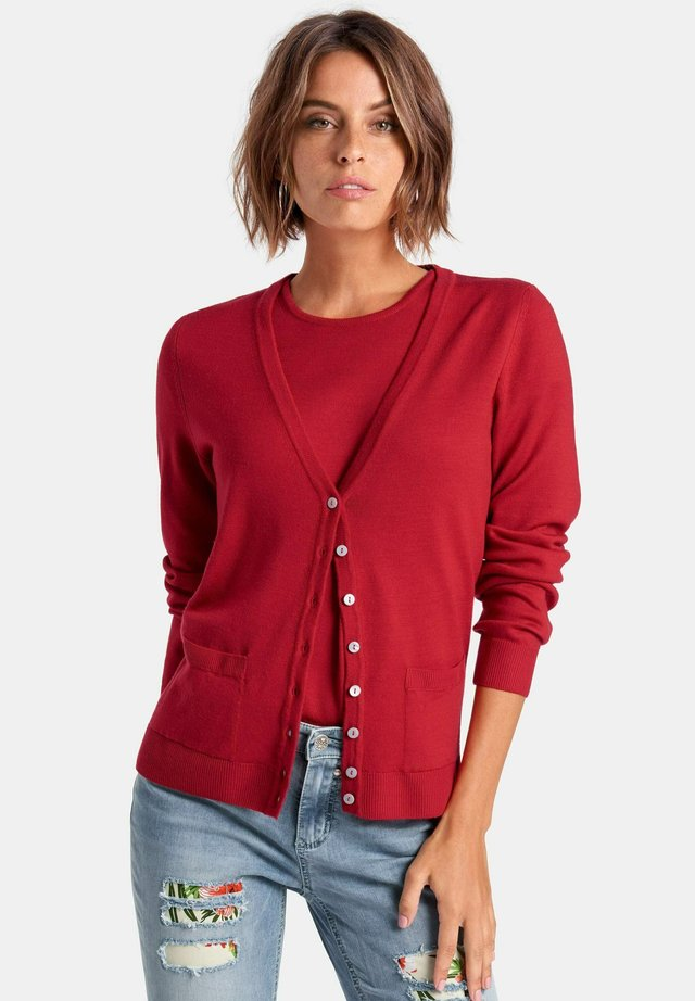 TWINSET  - Strickjacke - red