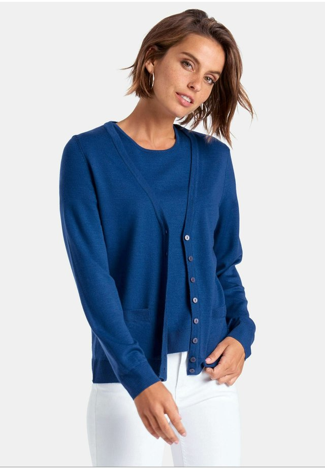 TWINSET  - Strickjacke - blau