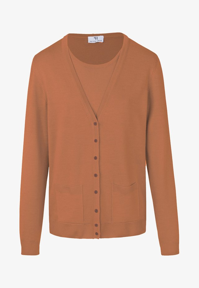 TWINSET  - Strickjacke - cognac