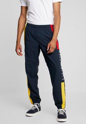 COLOR BLOCKED TRACK - Pantalon de survêtement - dark sapphire