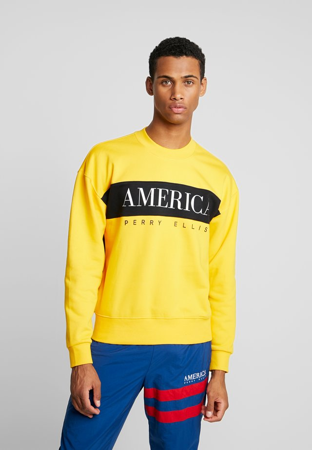 Sweatshirt - spectra yellow