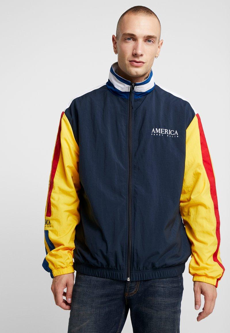 Perry Ellis America - Training jacket - dark sapphire