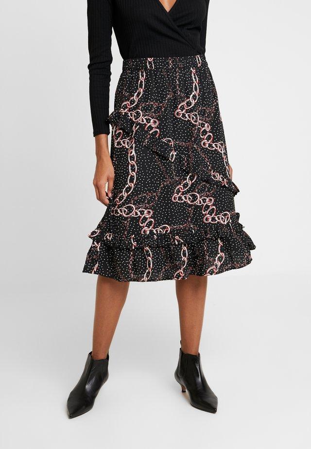 LATHISIA SKIRT - A-line skirt - black