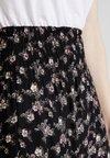 PEPPERCORN - SKIRT FLOWER PRINT - Falda larga - black combi