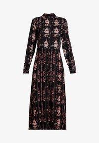 PEPPERCORN - LOUISA DRESS - Skjortekjole - black - 4
