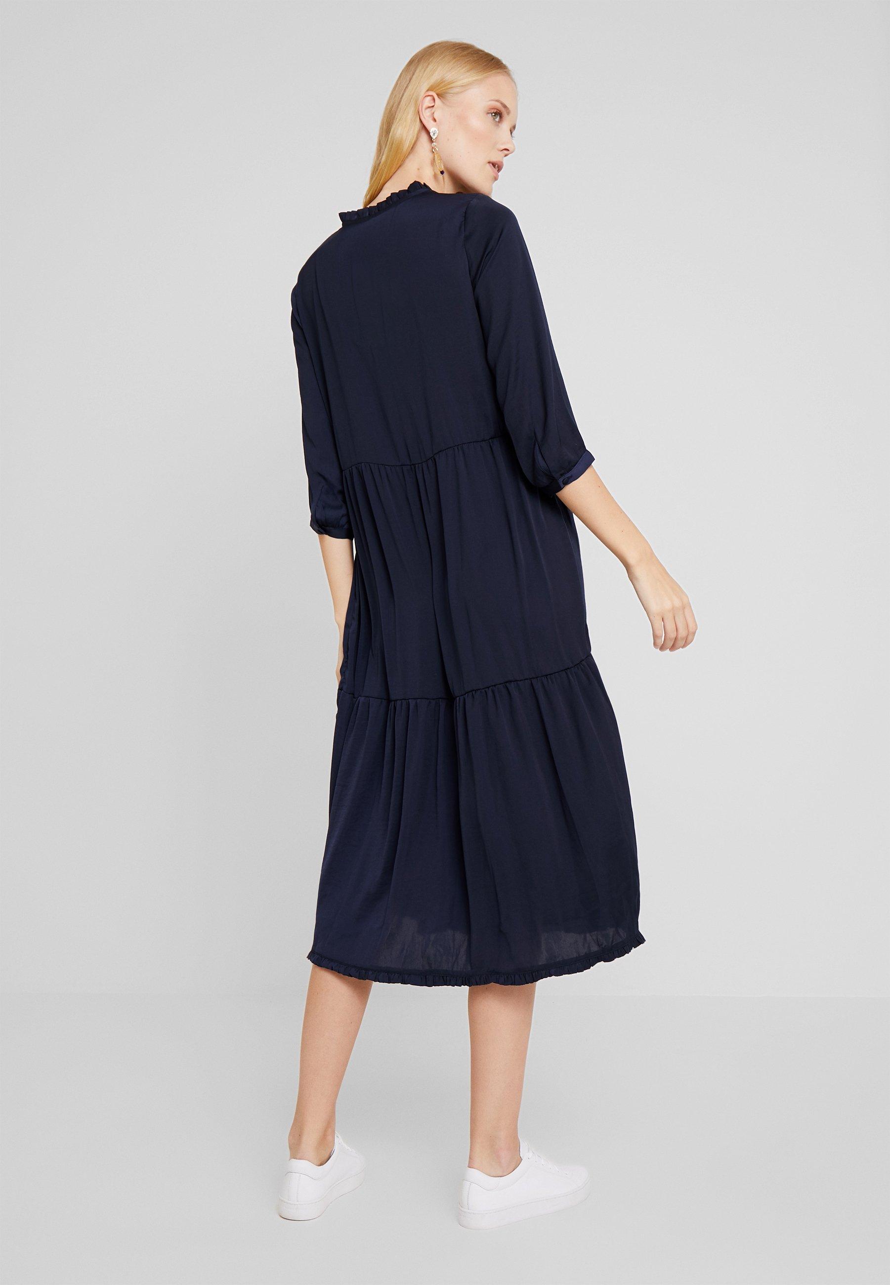 PEPPERCORN Robe d'été - bleu marine navy