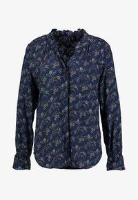 PEPPERCORN - FLOWER PRINT - Skjorte - dark blue - 3