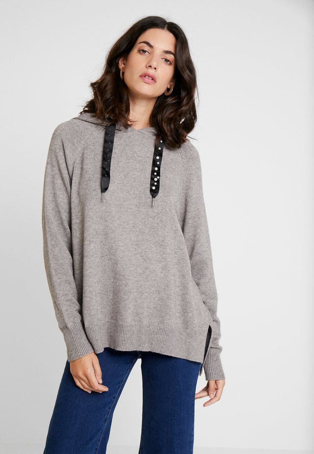 LOUIS HODDIE - Jumper - grey melange