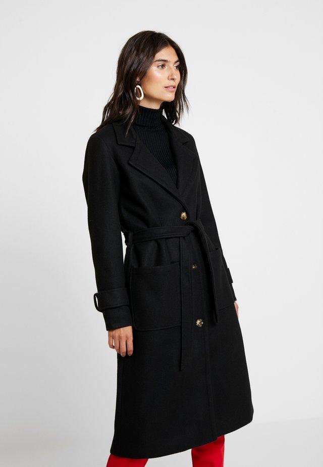 PRISCA COAT - Classic coat - black