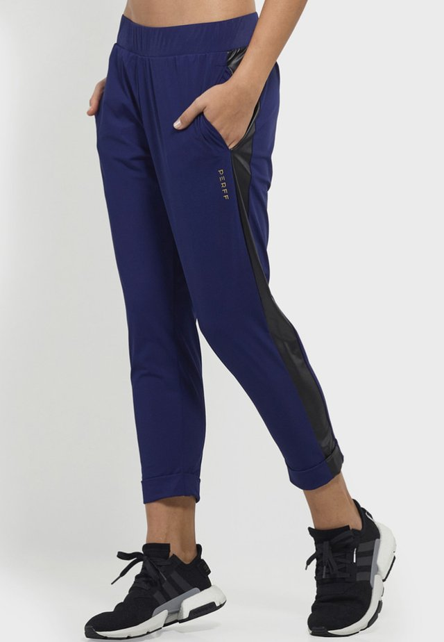 BE YOU  - Tracksuit bottoms - blue