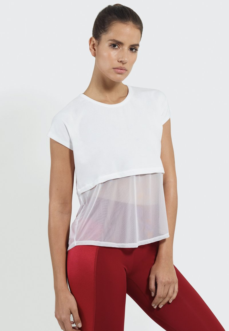 PERFF STUDIO - Print T-shirt - white