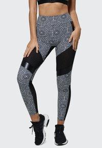 PERFF STUDIO - Leggings - black print - 0
