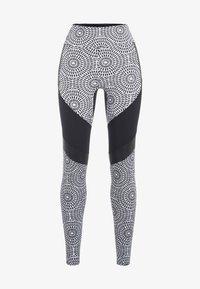PERFF STUDIO - Leggings - black print - 4