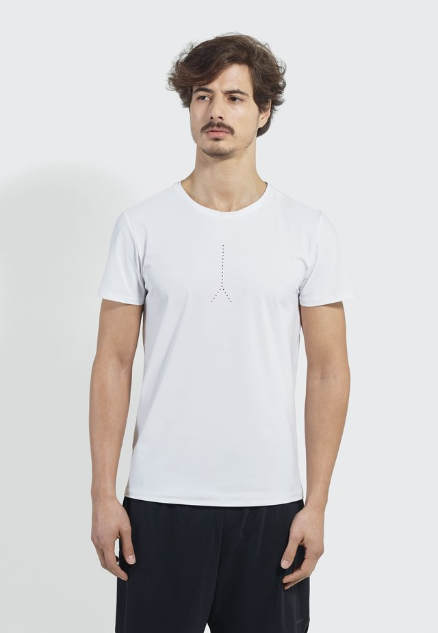 PUSH LIMITS - Print T-shirt - white