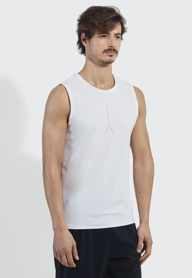NEXT LEVEL  - Sports shirt - white