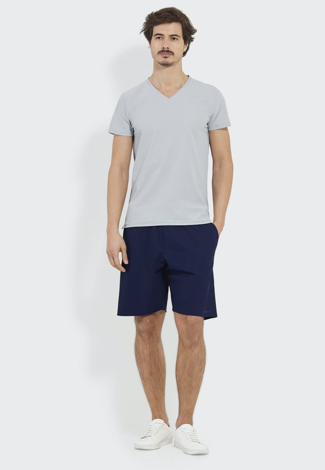 STRAIGHT ON  - Sports shorts - navy