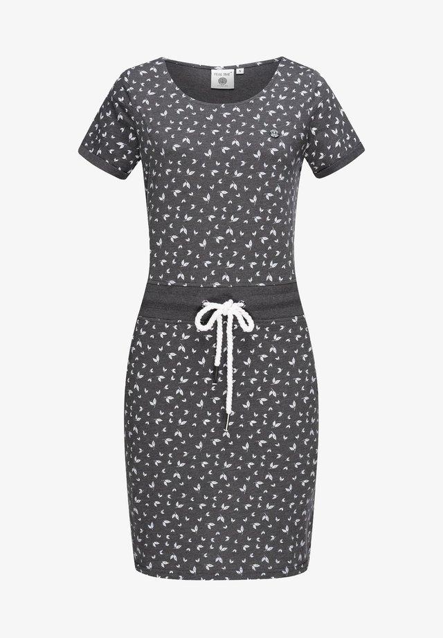Jersey dress - midgrey melange