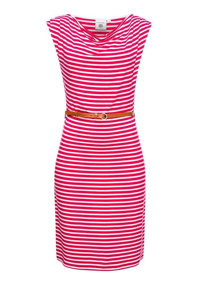Jersey dress - rasberry