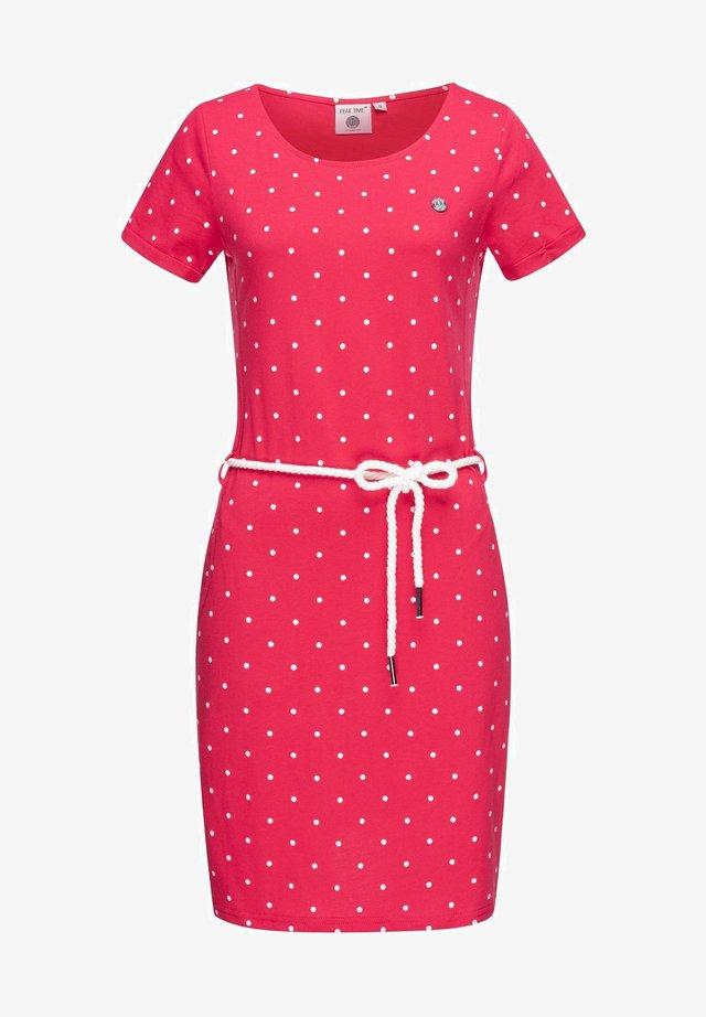 Day dress - rasberry