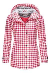 Peak Time - Waterproof jacket - rot20 - 0
