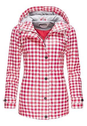 Regenjacke / wasserabweisende Jacke - rot20